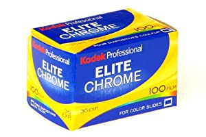 KODAK Elite Chrome 100 Film for Color Slides for 35mm Camera