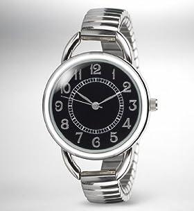Vintage Round Face Expandable Watch