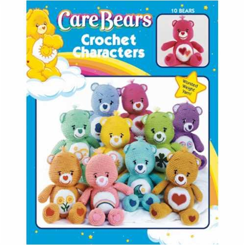 Leisure Arts-Care Bears Crochet Characters