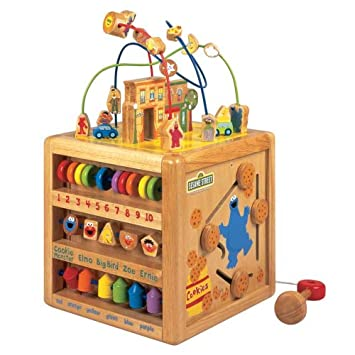 Wooden Play Cube