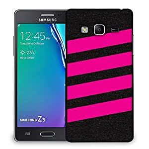 Snoogg Simple Pink 2905 Designer Protective Back Case Cover For Samsung Galaxy Tizen T3