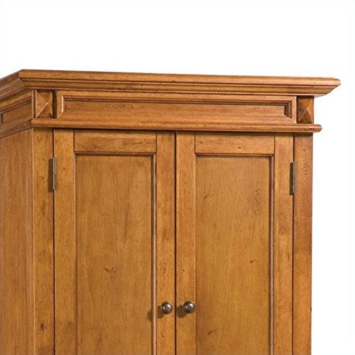Home Styles 5004 69 Americana Pantry Storage Cabinet Distressed Oak Finish Furniture Cabinets