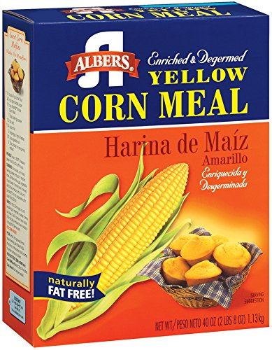 Albers Yellow Corn Meal, 40-Ounce Boxes (Pack of 4) (Bulk Corn Meal compare prices)