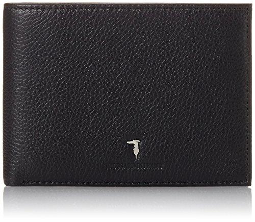 Trussardi Jeans 71P014J6Xx Portamonete, 13 cm, Nero