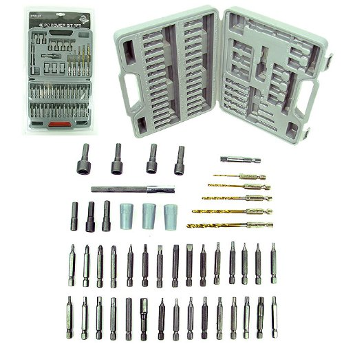 48 Piece Super Deluxe Power Bit and Accessory Kit