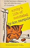 Archy's Life of Mehitabel (057106616X) by Marquis, Don