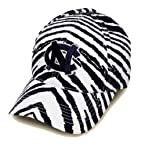Striped UNC Tar Heels Hat