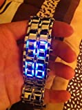 Iron Samurai - Japanese Inspired Blue LED Watch