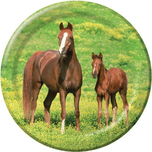 Wild Horses 9in Round Plates
