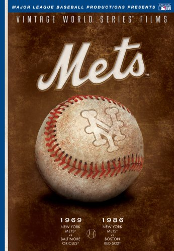 MLB Vintage World Series Films - New York Mets 1969 & 1986