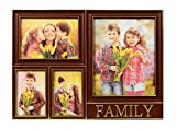 Exclusive 4 in 1 Family Photo Frame