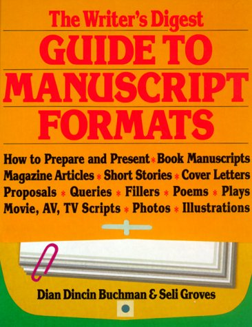 Image for The Writer's Digest Guide to Manuscript Formats