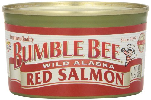 Bumble Bee Wild Alaska Red Salmon, 7.5 oz (Bumble Bee Canned Salmon compare prices)