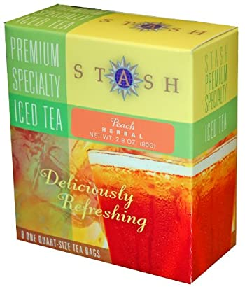 Peach Herbal Iced Tea