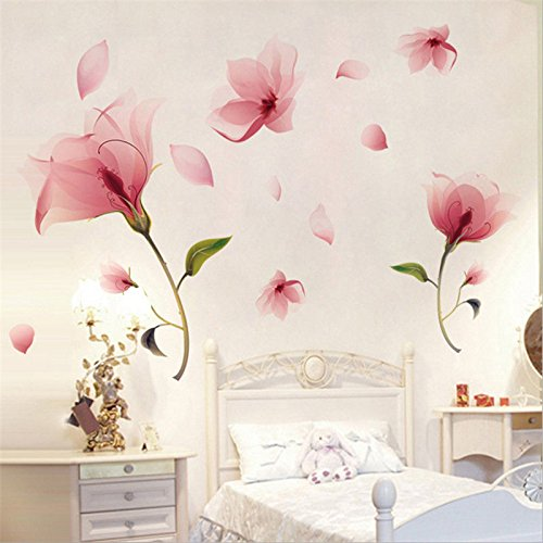 Removable Flower Wall Sticker Vinyl Mural Decals Home Art Living Room Decor CHI (Fryer Phone compare prices)