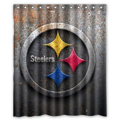 Pittsburgh Steelers Shower Curtain Steelers Shower