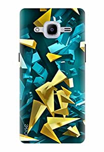 Noise Designer Printed Case / Cover for Samsung Galaxy J2 - 6 (New 2016 Edition) / Patterns & Ethnic / Abstract Background