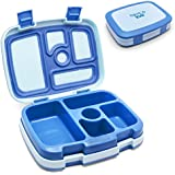 Bentgo Kids Children's Lunch Box - Bento-styled Lunch Solution Offers Durable, Leak-proof, On-the-go Meal and Snack Packing (Blue)