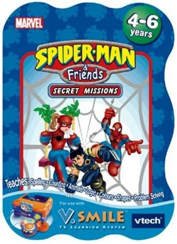 Vtech - V.Smile - Spider-Man & Friends front-1072102