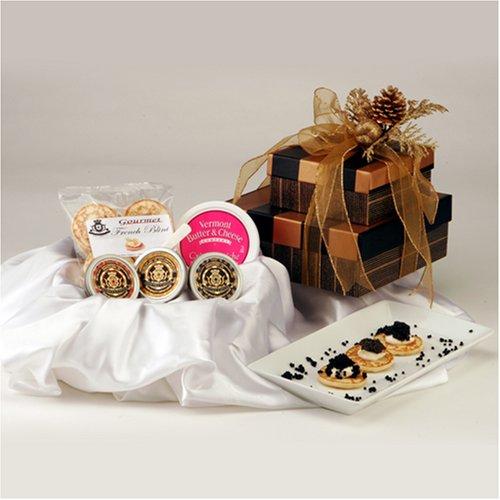 Caspian Caviar Gift Basket