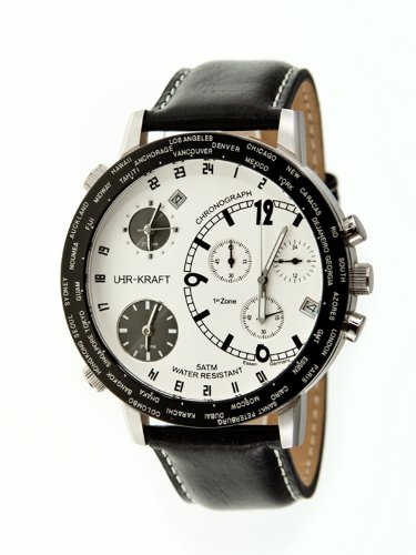 Uhr-kraft 21023/3a Big World Mens Watch
