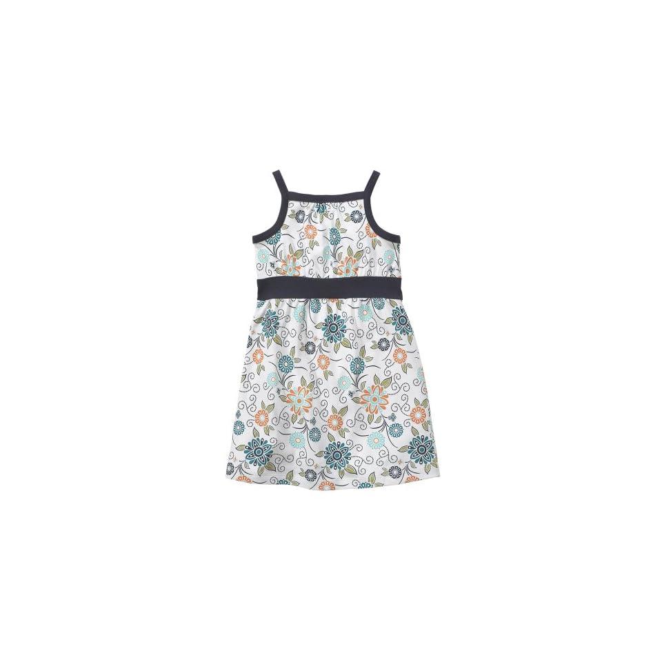 Tea Collection Baby Bellflower Strappy Dress, Milk, L