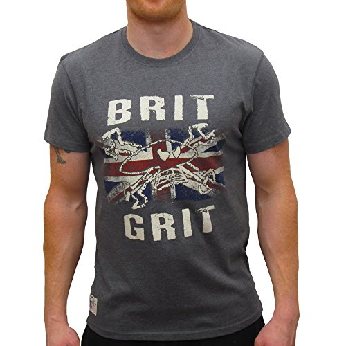 Primo Guy Martin Brit Grit (Mens) T-Shirt Graphite