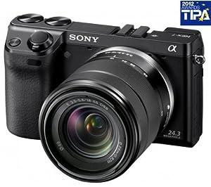 SONY NEX-7K in black + 18 - 55 mm Lens + 3 YEARS WARRANTY
