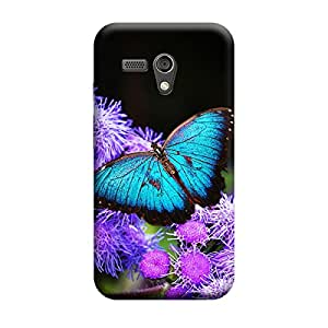 iShell Premium Printed Mobile Back Case Cover With Full protection For Moto G (Designer Case)