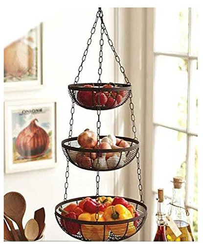 3 tier fruit basket healthy fruit trifle