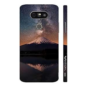 Enthopia Designer Hardshell Case Volcanic Milky Peak Back Cover for LG G5