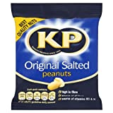 KP Original Salted Peanuts 50g (Pack of 24)