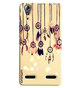 Omnam Effective Things Lying On Wall Designer Back Cover Case For Lenovo A6000