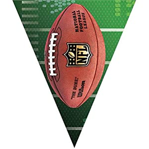 pennant banner - nfl drive by Amscan