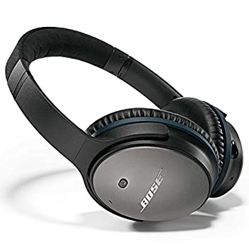 QuietComfort 25 headphones are re-engineered to sound better, be more comfortable and easier to take with you. Put them on, and suddenly everything changes. Your music is deep, powerful and balanced, and so quiet that every note sounds clearer. Even ...