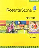 Rosetta Stone Homeschool German Level 1-5 Set including Audio Companion