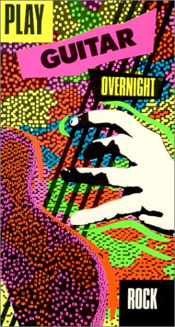 Play Guitar Overnight - Rock [VHS] [Import]