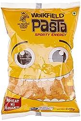 Weikfield Pasta, Fusilli, 200g with Free White Pasta Sauce Mix, 25g