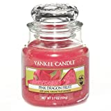 Yankee Candle Small Jar Candle, Pink Dragon Fruit