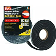Do it Best Sponge Rubber Weatherstrip Tape-3/4X7/16