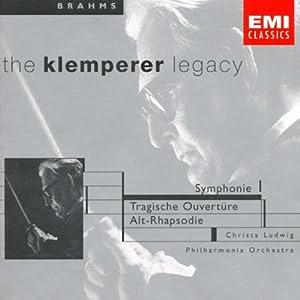 Symphony 1 / Tragic Overture / Alto Rhapsody