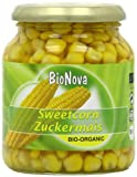 Bionova Organic Sweetcorn 340 g (Pack of 6)