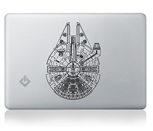 Millennium-Falcon-STAR-WARS-Sticker-Decal-for-Macbook-Laptop-Car-Window-Laptop-Motorcycle-Walls-Mirror-and-More