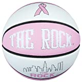 Anaconda Sports® The Rock® MG-4500-PC-PK13 Fight Against Cancer Pink Game Ball Women's Basketball