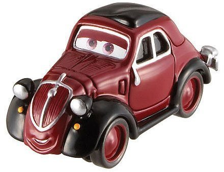 Disney / Pixar CARS Movie 1:55 Die Cast Car Uncle Topolino [Festival Italiano 1/10] [Holiday Gifts] - 1