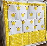 赤ちゃん ベッド サイド 用 おむつ 小物入れ ポケット 整理 袋 壁掛け ベビー 収納袋 [並行輸入品] Musulin Free D054