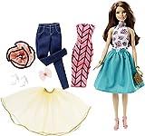 Toy - Barbie Fashion Mix n Match Doll - Blue