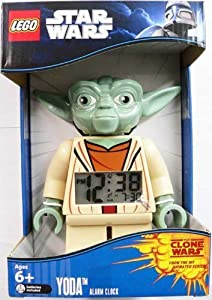 Lego Unisex Star Wars Yoda Mini-figure Alarm Clock from LEGO