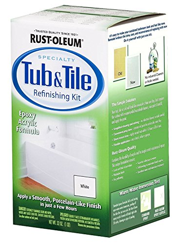 32OZ WHT Tub/Tile Kit (Rustoleum Tub And Tile Kit compare prices)