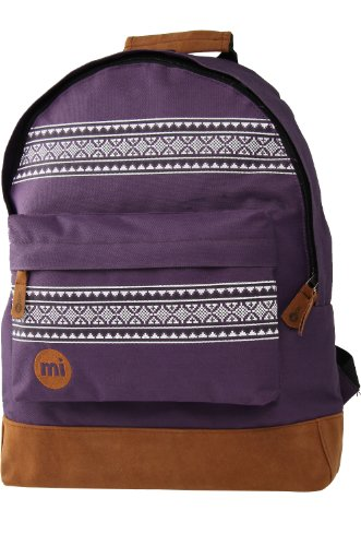 Mi-Pac Textile Rucksack Nordic Violett - Lila